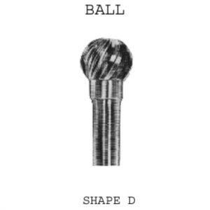 Ball Carbide Burrs 6mm