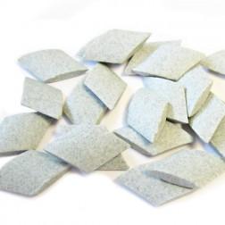 Ceramic Media for vibratory finishing Ellipse shape 15mm x 4 mm RM 25kg