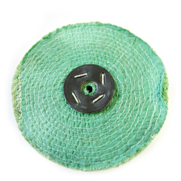"""6/"""" x 1/"""" Sisal polishing mop for first stage polishing on  alloy stainless steel"""