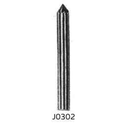 J-Shape Carbide Burrs
