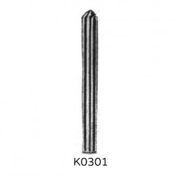 K- Shape Carbide Burrs