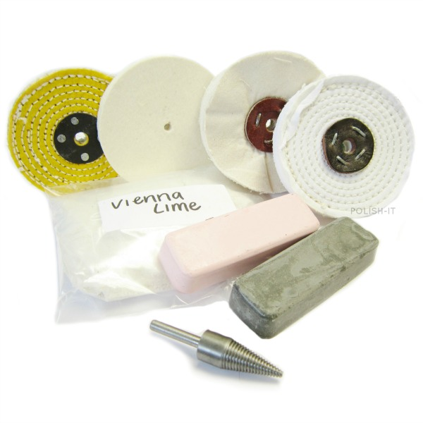 Stainless steel polishing kit
