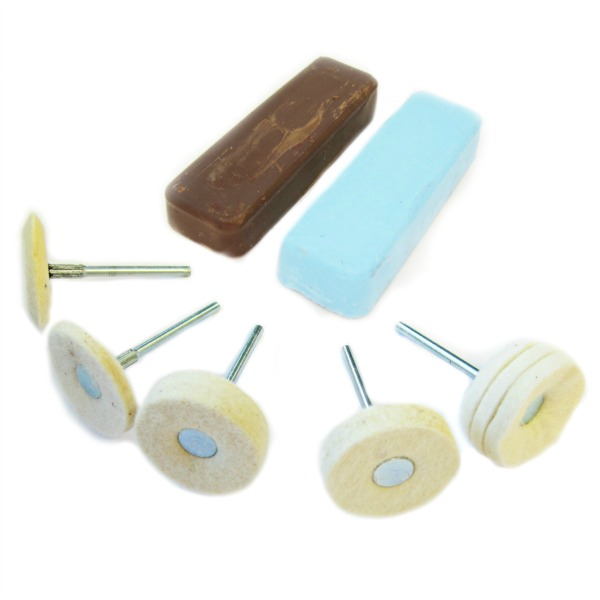Mounted Polishing Kit for Metal Kit 21 for Aluminium