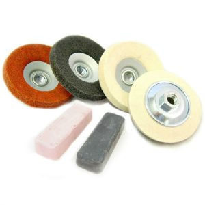 Angle Grinder Metal Polishing Kit for stainless steel