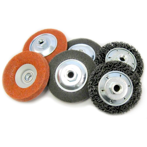 angle grinder paint and scratch removal kit - surface preparation