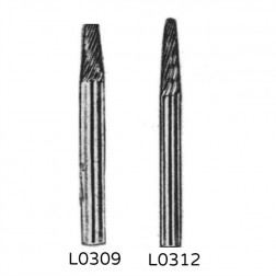 L-Shape Carbide Burrs