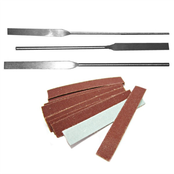 Quick Zip Abrasive Strips & Files