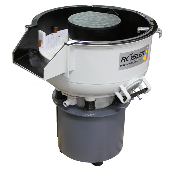 Rosler vibro bowls with separation system