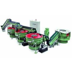 Rosler Rotary bowls for automatic deburring / polishing