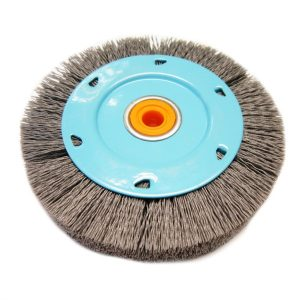 Abrasive nylon filament wheels