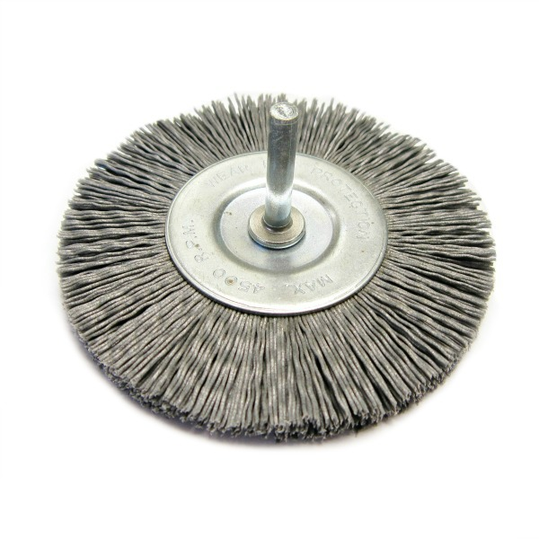 4'' Abrasive nylon filament wheels
