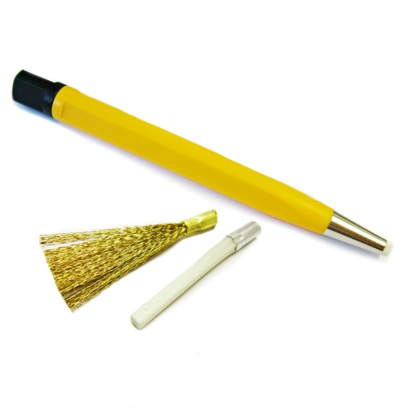 Glass & Brass Fibre Pencils