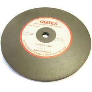 "Cratex Wheel - 6"" x 1/4"" (1/2"" Centre Hole) - Medium - 604"