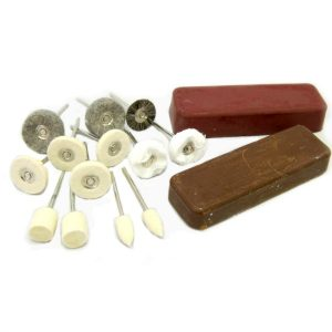 Jewellery Pendant Drill Polishing Kit