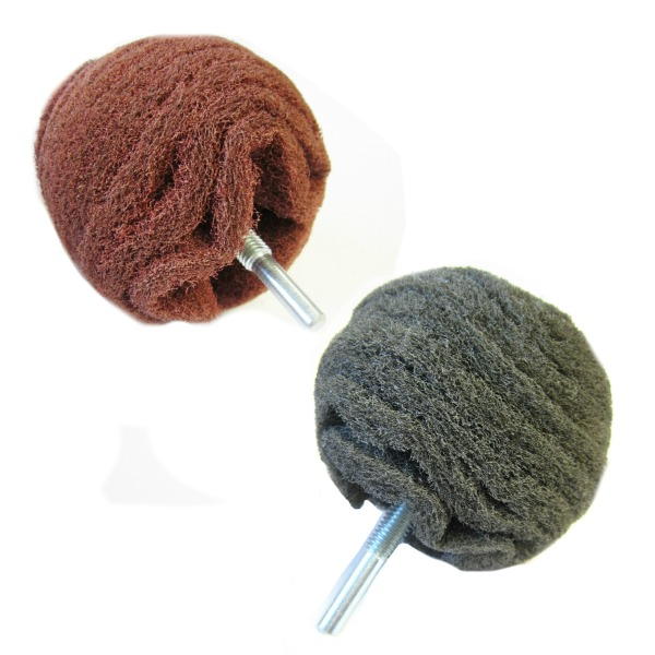 abrasive nylon buffing balls