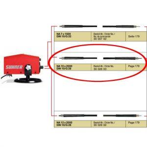 Suhner ROTOmax - NA10 x 2000 Cable