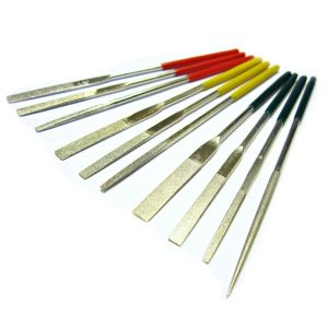 Tapering Diamond Needle Files