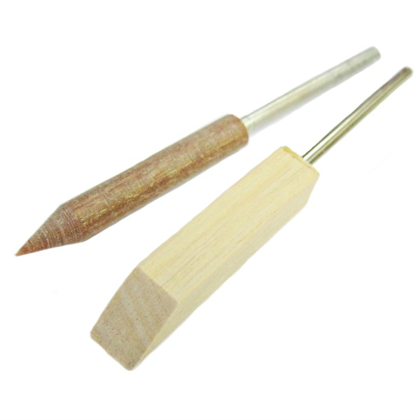 Mounted Wooden Lapping Sticks