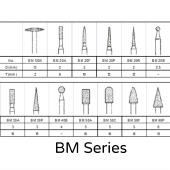 Diamond Points - BM Series - 3.0 mm Shank