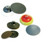 Self Adhesive & Hook and Loop Backing Pads