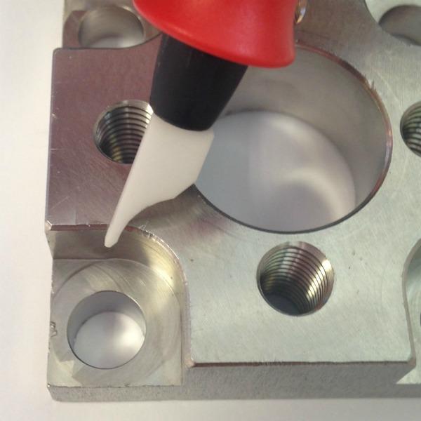 Shaviv Curve Ceramic deburring blade