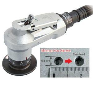 Pneumatic chamfering tool