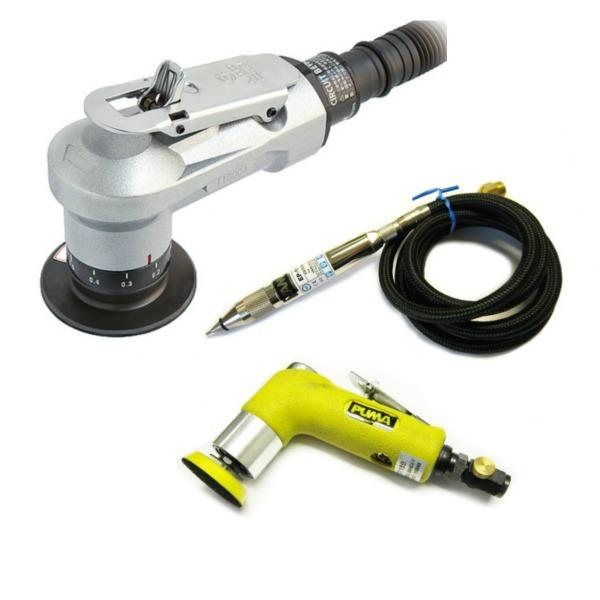 Orbital Sanders, Engraving Pens & Chamfer tool