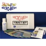 Micro Mesh Craft kit for polishing Plastic, Acrylic, Porcelain, Fiberglass