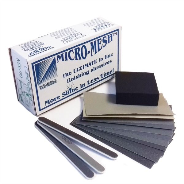 metal plastic and wood finishing Finishing wood handles  i usually sand to 400 and place some blo in a plastic sandwich  this is tru-oil with no buffing after finishing,.