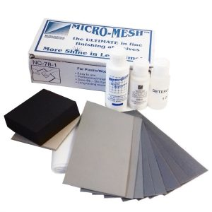 Micro-Mesh Restoral and Finishing Kit