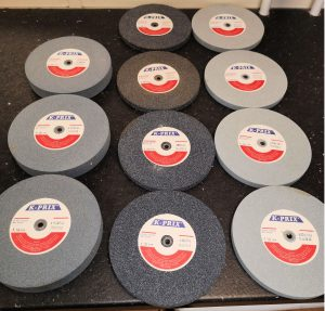 ASSORTED GRIDING WHEELS 150x25x6 A120/A460/A220