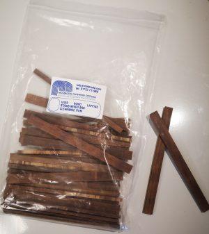 Hardwood Lapping Sticks