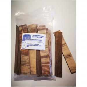 Hard wood lapping sticks - wide
