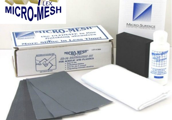 Micro Mesh kit for Acrylic and Polycarbonate