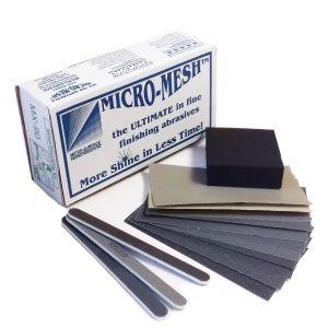 Metal Polishing kit Micro Mesh