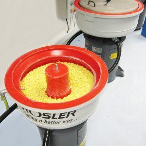 Rosler Mini 30 vibratory finishing machine