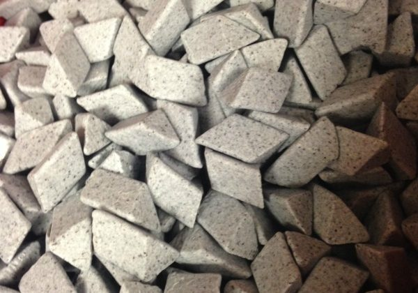 Deburring ceramic media
